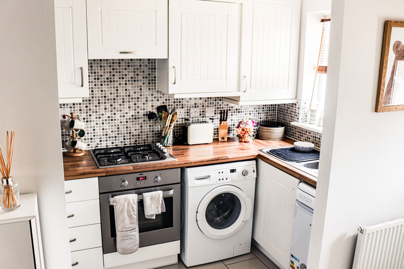 laundry-room-with-wood-countertop
